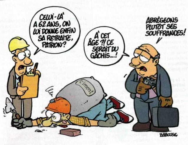 Dessins humoristiques retraites 2010 cgt duc 39 action 45 for Humour retraite